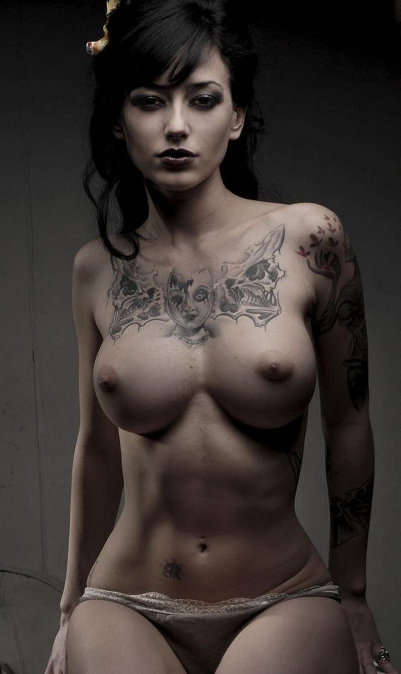 Underboob tattoos under breast tattoo design ideas